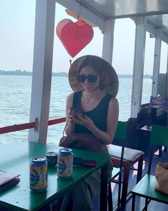 Kim So Yeon ở Việt Nam.