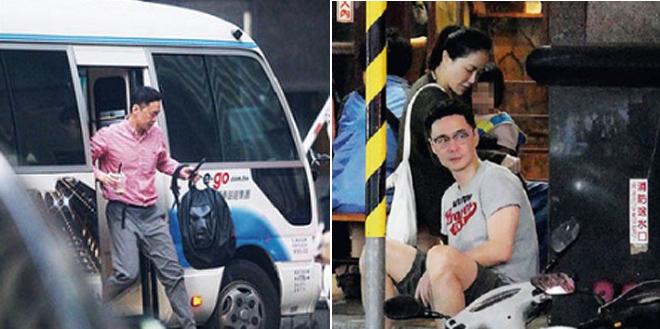 Trương Thừa Trung vội vã đến với bạn gái sau một ngày làm việc.