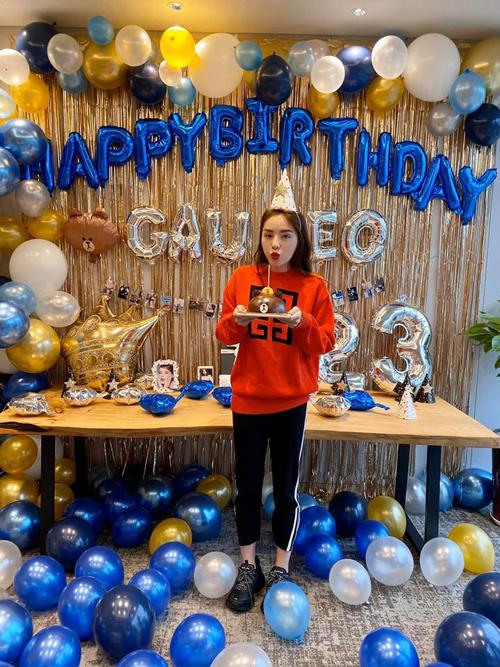 Đây là lần thứ hai cô được đón sinh nhật của mình. Trước đó Kỳ Duyên được người tình tin đồn Minh Triệu và fan tổ chức tại Hà Nội. Sinh nhật lần này diễn ra chính thức vào ngày 13/3, trong khi cô và Minh Triệu đang du lịch tại Hàn Quốc.