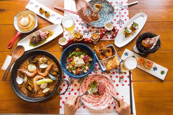 Quán chuyên các món Tây Ban Nha