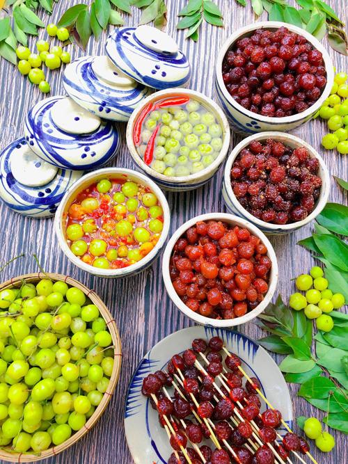 Hãy tranh thủ những ngày cuối mùa để làm các món ngon từ chùm ruột.
