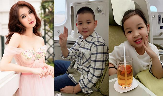 Hiện Thùy Lâm có cuộc sống viên mãn bên chồng và hai con. Mỹ nhân 32 tuổi chuyển hướng kinh doanh lĩnh vực làm đẹp, thỉnh thoảng dự sự kiện, chụp ảnh thời trang.