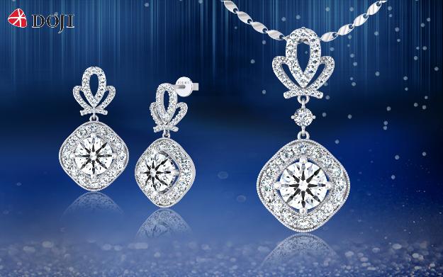 Dịp này, khi mua Trang sức Kim cương, Trang sức Ổ (chờ), bên cạnh ưu đãi cực tới 30%, khách hàng có cơ hội tặng thêm vàng bốn số 999.9.