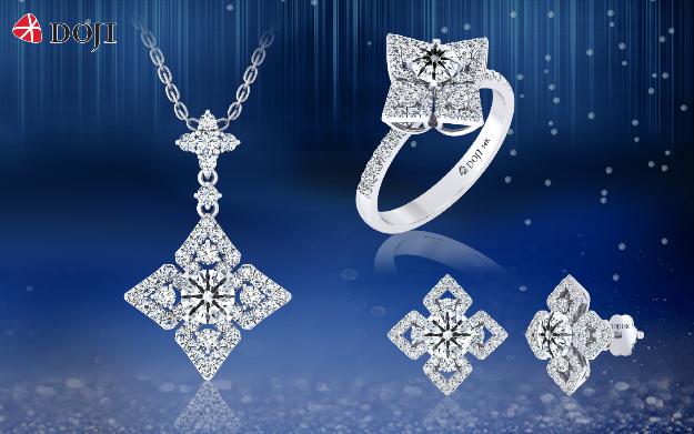 Dịp này được coi là cơ hội lợi đơn lợi kép với các tín đồ kim cương khi được hưởng ưu đãi tới 30% đồng thời sở hữu thêm vàng 999.9 khi mua trang sức kim cương, ổ chờ với hóa đơn mua hàng từ 100 triệu đồng.