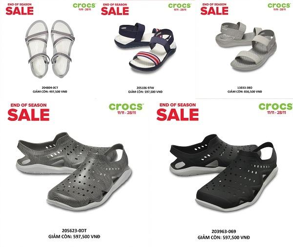 Crocs giảm giá đến 50% trên toàn quốc - 2