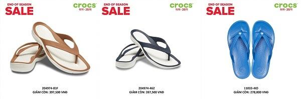 Crocs giảm giá đến 50% trên toàn quốc - 4