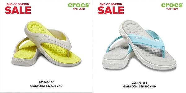 Crocs giảm giá đến 50% trên toàn quốc - 5