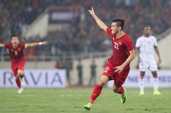 Tiến Linh góp công lớn trong chiến thắng của Việt Nam trước UAE. Ảnh: Đức Đồng