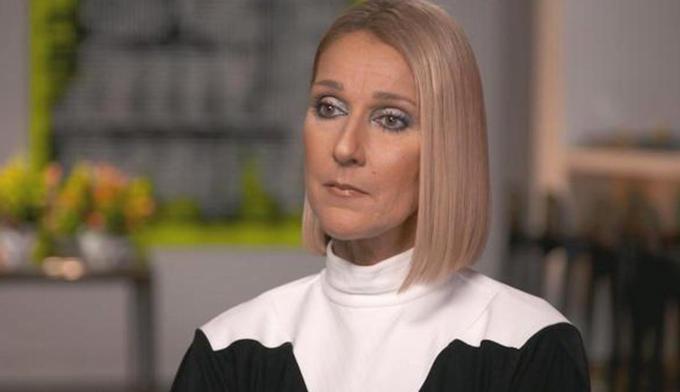 Celine Dion trong talkshow This Morning của đài CBS.