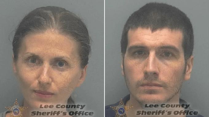Cặp vợ chồng hiện bị giam với cáo buộc ngộ sát nghiêm trọng sau cái chết của con trai 18 tháng tuổi. Ảnh: Lee County Sheriffs Office.