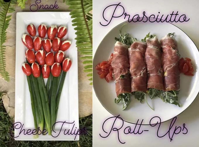 Các món ăn vặt của Halle cũng tuân thủ quy tắc giàu protein để có sức làm việc, tập luyện.