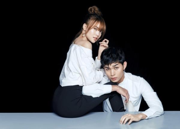 Lan Ngọc và Jun Phạm khá thân thiết ngoài đời.