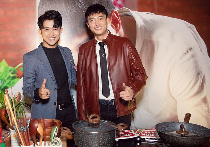 MC Trương Quốc Bảo dẫn dắt sự kiện ra mắt web drama của Quốc Trường.