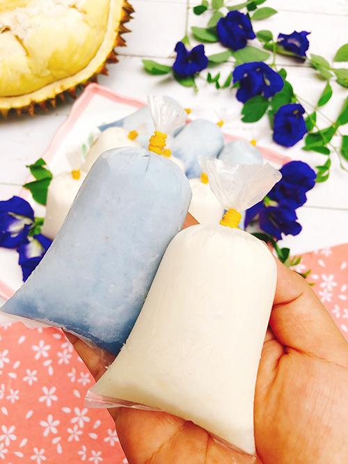 Kem túi sầu riêng sữa dừa - 1