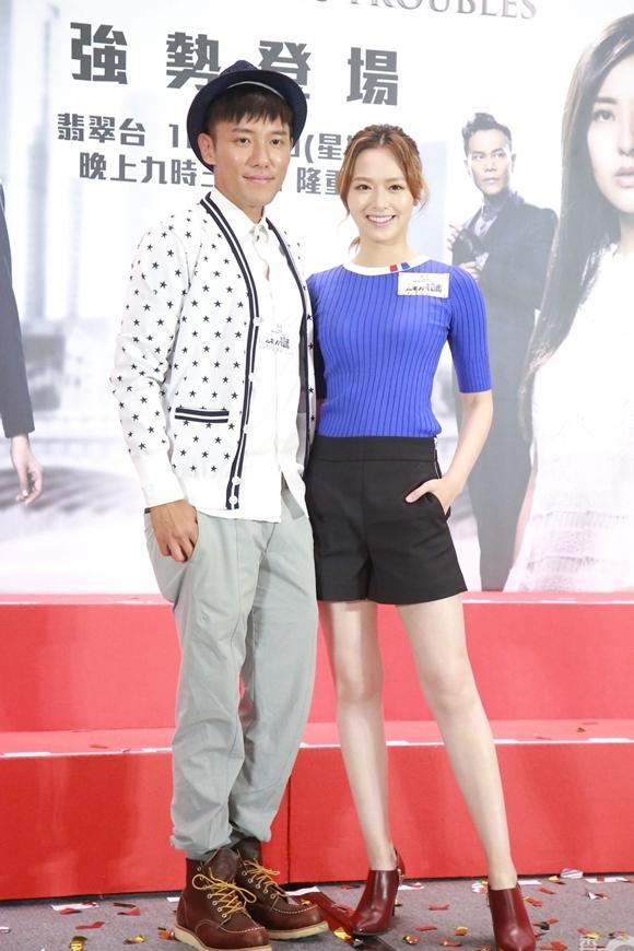 Trương Dĩnh Khang và Hoa hậu Hong Kong 2016 Phùng Doanh Doanh.