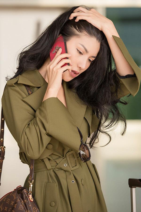 Thời gian tới, cô sẽ mở thêm công ty về thiết kế nội thất và tập trung phát triển thế mạnh của mình ở lĩnh vực này.
