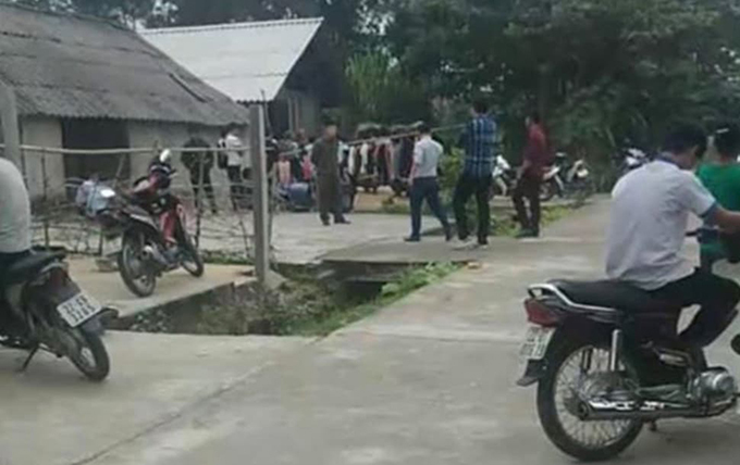 Căn nhà nơi xảy ra vụ án mạng
