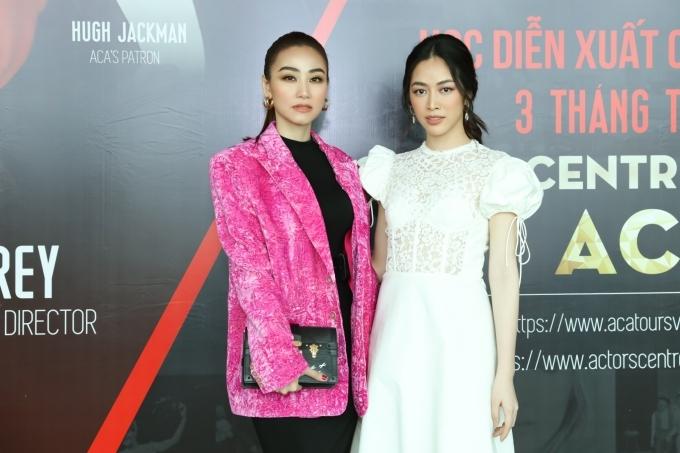 Diễn viên Mai Thanh Hà (phải).