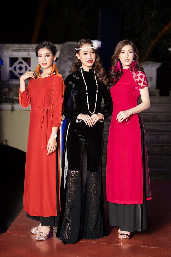 Phí Thuỳ Linh hội ngộ hai người đẹp Phùng Ngọc Bảo Vân và Lê Thanh Tú tại sự kiện.