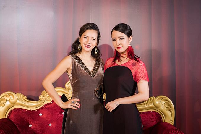Diễn viên Thuỳ Dương cũng chơi thân với nhà thiết kế La Phạm.