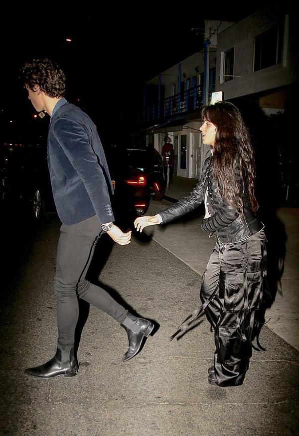 Họ có buổi hẹn hò bình thường giống như bao cặp uyên ương khác, cùng ăn tối và dạo phố bên nhau.