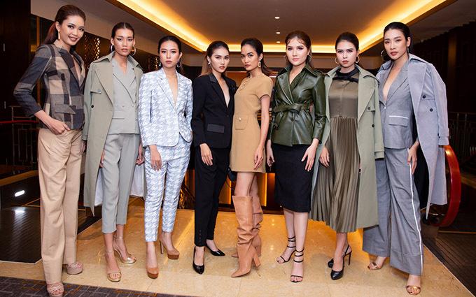 Sự kiện còn có dàn mẫu với phong cách thời trang năng động, hiện đại tham dự.