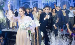 Quang Vinh, Thúy Ngân chụp hoa cưới của Bảo Thy