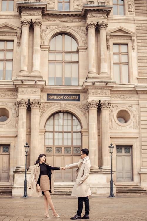 Ảnh cưới ở Paris của người đẹp Thu Hà - 8
