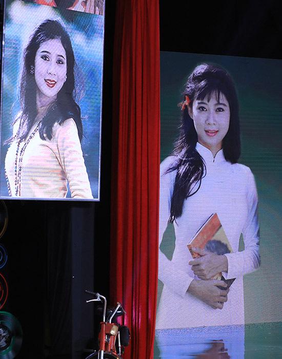 Hình ảnh của Diễm Hương xuất hiện trong chương trình Ký ức vui vẻ gợi nhớ thời hoàng kim của cô với điện ảnh, hơn 20 năm trước.