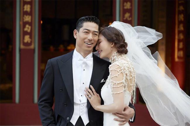 Lâm Chí Linh và chồng, ca sĩ AKIRA.