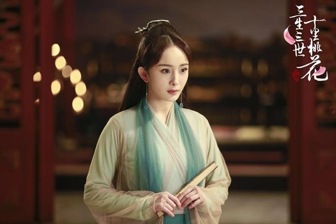 Tam sinh tam thế thập lý đào hoa của Dương Mịch nói về mối tình trải dài ba kiếp.