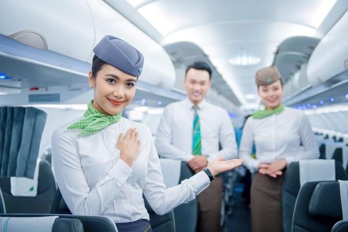 Với tiếp viên hành khôngBamboo Airways,huy hiệu cánh bay vừa là niềm tự hào, vừa là động lực làm việc