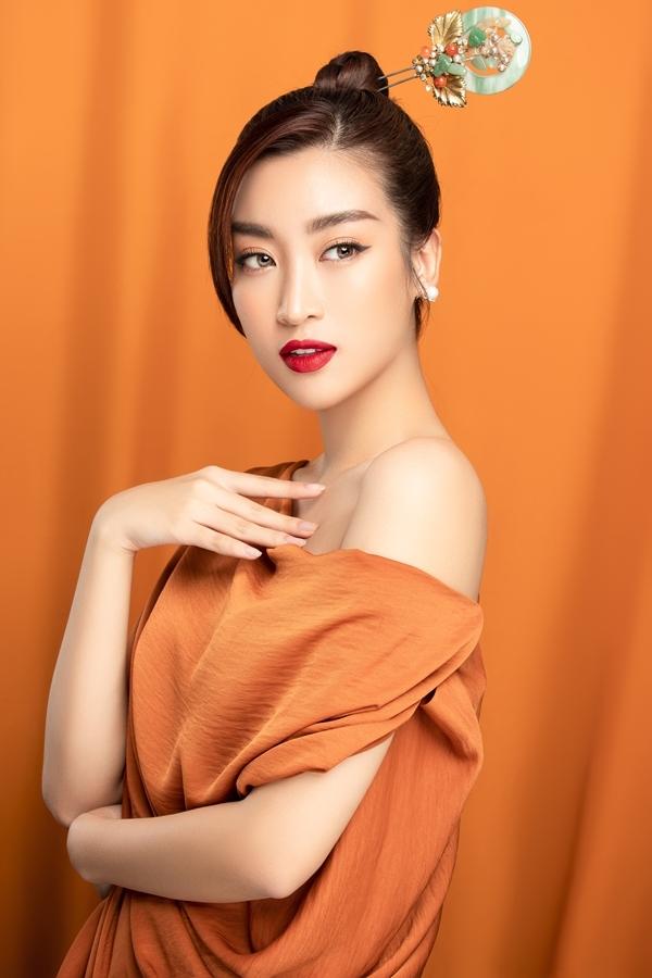 Mỹ Linh được khen ngợi về nhan sắc sau ba năm đăng quang Hoa hậu Việt Nam.