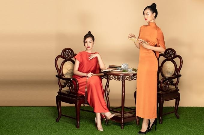 Đỗ Mỹ Linh (trái) - Kiều Loan