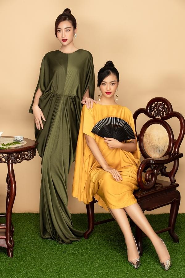 Đỗ Mỹ Linh khoe vẻ đẹp dịu dàng, trong khi Kiều Loan hướng đến phong cách sắc sảo.