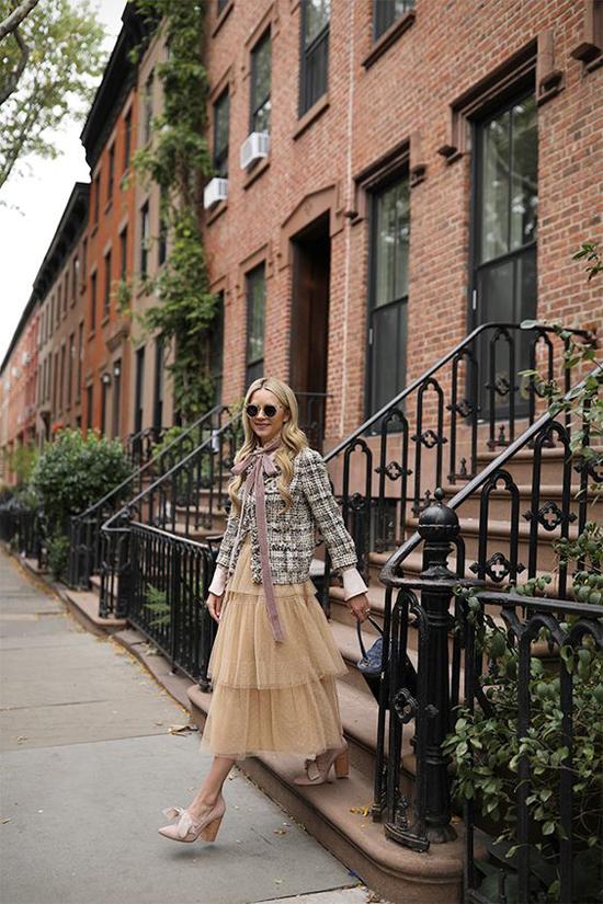 Áo khoác vải tweed cho nàng công sở - 7