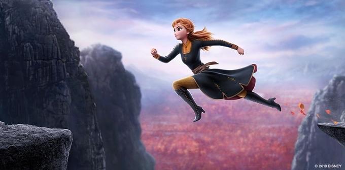 Anna mạnh mẽ.