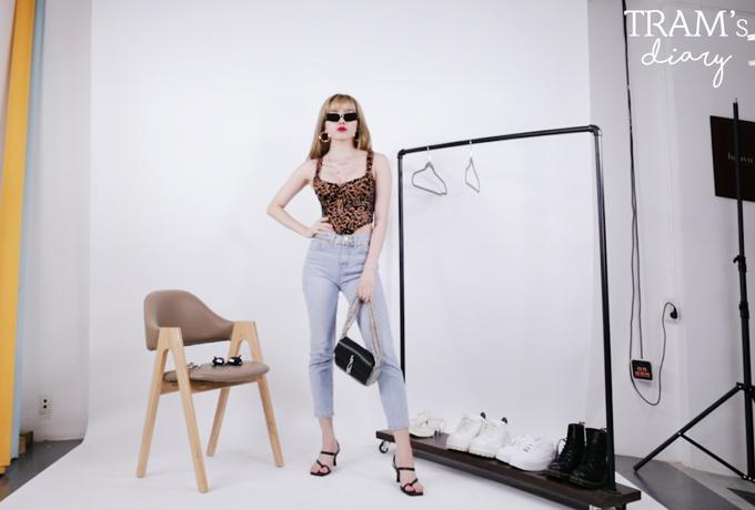 Thiều Bảo Trâm gợi ý 5 cách phối một chiếc quần jeans - 8