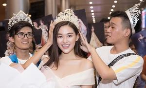 Tường San được fan tặng vương miện Miss International