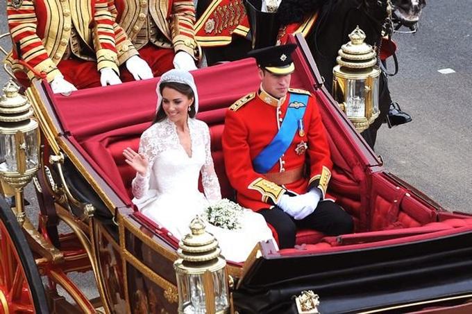 Các cô dâu, chú rể hoàng gia Anh phá quy tắc trong lễ cưới - 2