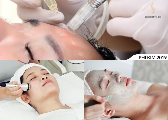 Sự khác biệtcủa công nghệ phi kim căng bóng 2019 là ứng dụng hệ thống 9 đầu kim nano siêu nhỏ, tùy chỉnh độ nông sâu 0,2 - 2,0mm phù hợp cho từng vùng da và mục đíchtrị liệu. Đồng thời, chuyên gia trị liệu dễ dàng kiểm soát lượng tinh chất đi vào từng điểm khác nhau trên gương mặt kể cả những vùng hẹp khó xử lý như trẻ hóa quanh mắt, mũi, miệng...của khách hàng. Quá trìnhtrị liệugiúp tăng tỷ lệ hấp thụ tinh chất.