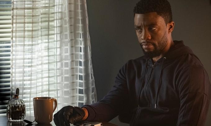 Black Panther Chadwick Boseman có nhiều cảnh hành động trong phim.