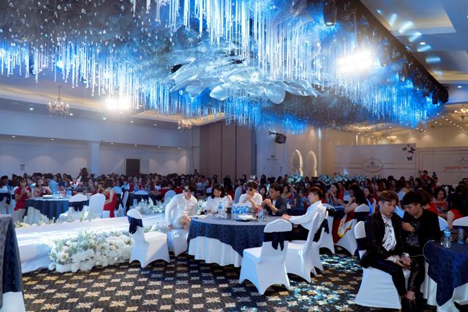 Sự kiện diễn ra tại một khách sạn sang trọng ở Hà Nội.