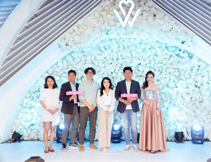 Tham gia sự kiện có các đối tác đến từ Hàn Quốc.