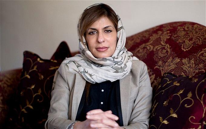 Công chúa Basmah nhiều lần xuất hiện trên truyền thông để phát biểu ủng hộ nhân quyền. Ảnh: CHRISTOPHER PLEDGER.