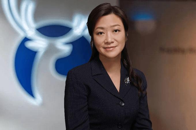 Bà Jenny Zhiya Qian, CEO của Luckin Coffee. Ảnh: Techinasia.