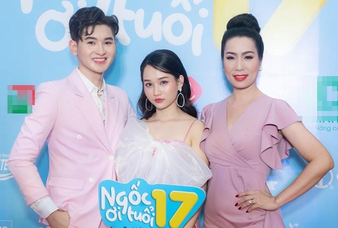 Trịnh Kim Chi vào vai người mẹ thương con trong phim Ngốc ơi tuổi 17.