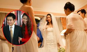 Dương Thùy Linh từng nổi đóa vì khách mời đám cưới trèo rào