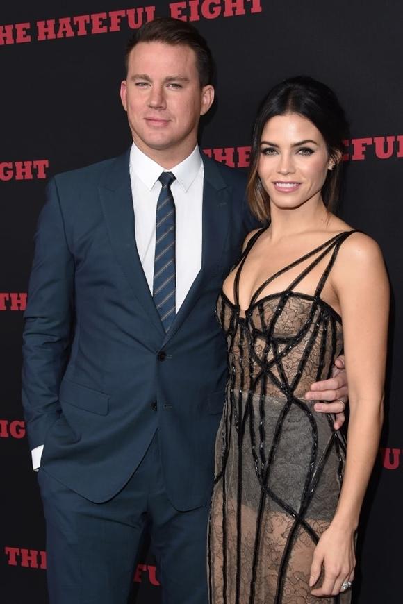 Channing Tatum và Jenna Dewan thời còn yêu nhau.
