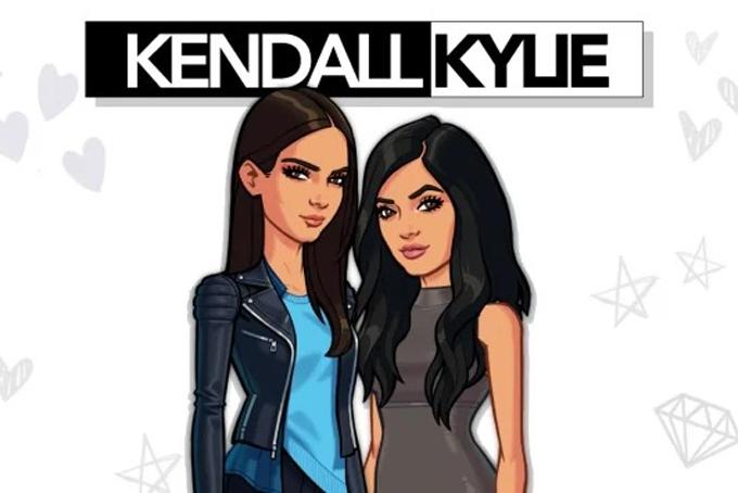 Cả hai còn học hỏi chị gái Kim phát hành game và cũng kiếm bộn tiền từ đó. Ngoài ra, Kylie có một ứng dụng (app) riêng, xoay quanh chuyện trang điểm, ngôi nhà mới và chú chó cưng của cô. App này khi vừa ra mắt đã đạt vị trí số 1 trên bảng xếp hạng app ăn khách của Apple, vượt qua cả các cô chị của mình. Ảnh: BI.